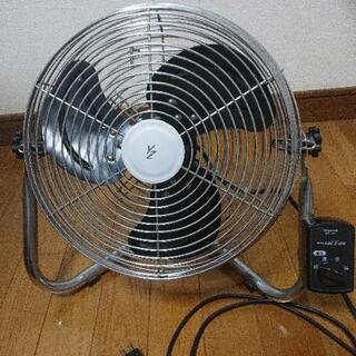 【終了】レトロな雰囲気の扇風機