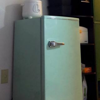 レトロ冷蔵庫60L【美品】限定価格☆