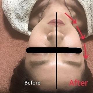 頭蓋骨小顔矯正+首肩リンパ(30分)