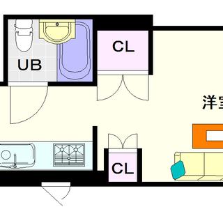 【ソアービル】2号タイプ!1DKタイプ!この広さで4万円台!?
