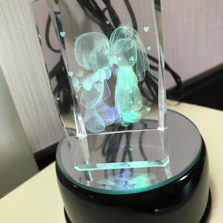 置物 5色程グラデーションで光ります。
