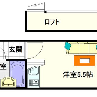 【シャンクレール日本橋】5号タイプ!1R+ロフトタイプ!!出た!ロ...