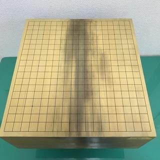 碁盤① 囲碁 脚付 厚さ17.5cm 布製カバー付き 骨董 アン...