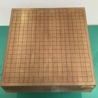 碁盤③ 囲碁 脚付 厚さ11.3cm 紙製カバー付き 骨董 アン...
