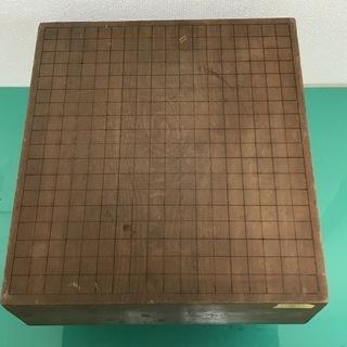 碁盤④ 囲碁 脚付 厚さ14.3cm  骨董 アンティーク インテリア