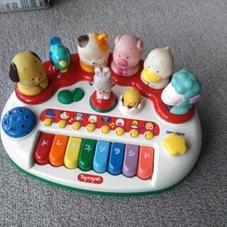 おもちゃのピアノ?