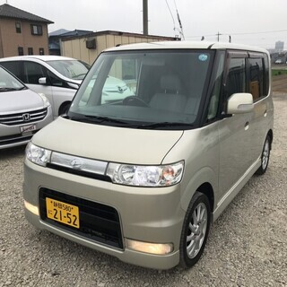 H19 タントカスタムL 車検付 ABS ナビ PS 内外装キレ...