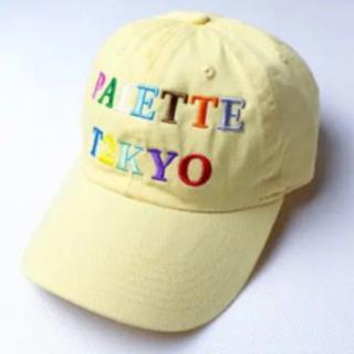 Palette Tokyo タグ付きキャップ