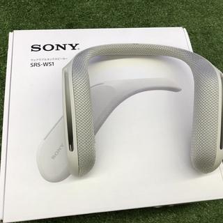 SONY ウェアラブルスピーカー SRS-WS1