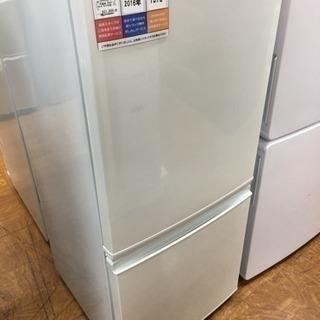 1年保証つき!SHARP 2ドア冷蔵庫 SJ-D14B-…