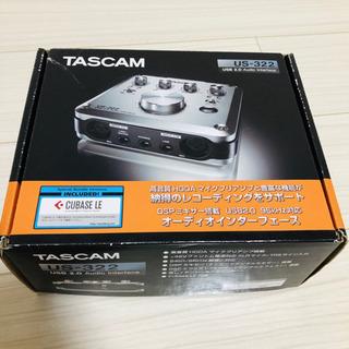 TASCAM US-322 ハンドルソフト・ドライバー無し