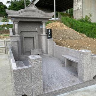 お墓建立の手元