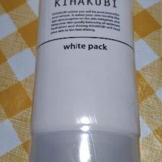 新品未使用 KIHAKUBI ホワイトパックT  60グラム