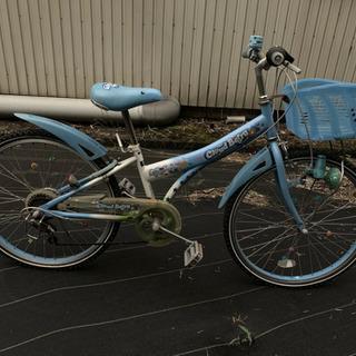 女の子向け 24インチ 自転車