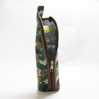【新品・未使用】迷彩柄カモフラージュ ペットボトルホルダー