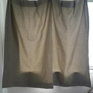 2 カーテン2枚セット(幅100 高さ110)