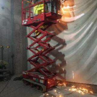溶接工 配管 鋼材取り付け 作業