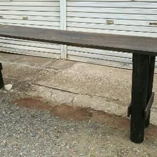 DIY ハンドメイド 木製テーブル カウンターテーブル バーカウ...