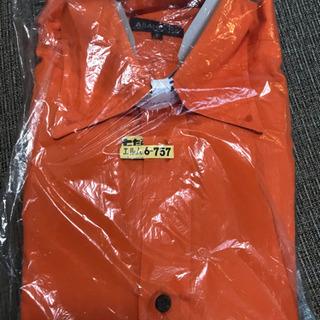 オレンジ 長袖シャツ アバハウス サイズ2号