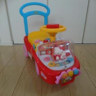 手押し車 ハローキティ 中古 おもちゃ 車