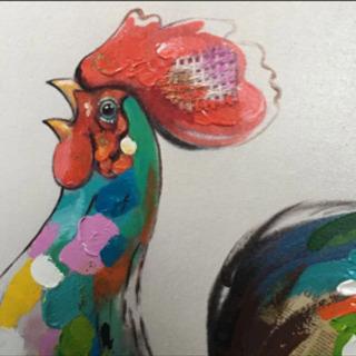 リビングハウス ニワトリ鶏 にわとり アート