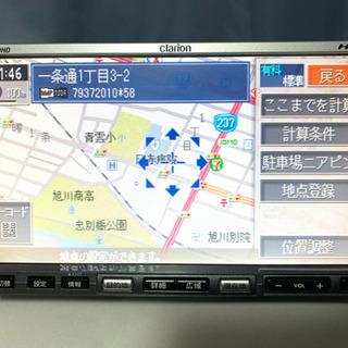 社外 スズキ系 クラリオン HDDナビ MAX760HD