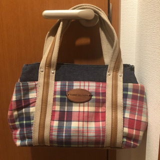 TOMMY HILFIGER トートバッグ チェック柄