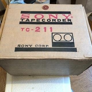 ソニーテープレコーダー TC-211