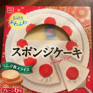 スポンジケーキ プレーン6号
