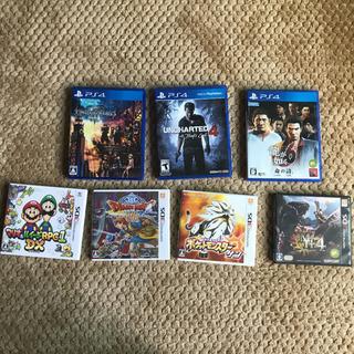 PS4、3DSソフトまとめ売り