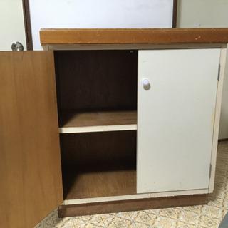 【アメリカ家具】カウンターテーブル?・棚?・外人住宅用家具…
