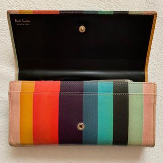 ポールスミス イタリア製財布 珍しい形