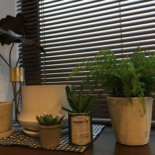 フェイク植物&鉢&花瓶など。6点