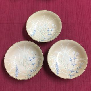 美濃焼  西洞窯 和風小皿3枚