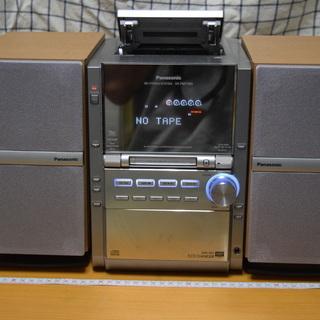 CDMDが使えない、ラジオとカセットだけのミニコンポ譲ります