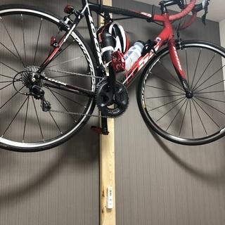 DIY 2x4木材 およそ2300mm + MINOURA バイク...