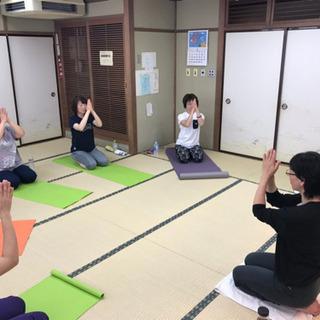 6/18(火)三鷹でヨガ♪