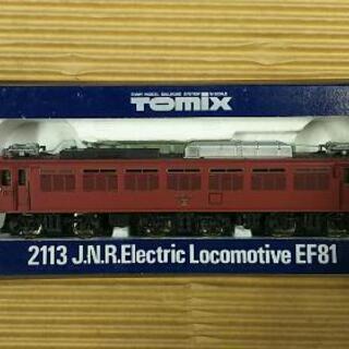 電気機関車 Tomix2113 トミックス EF81 国鉄 電車模型