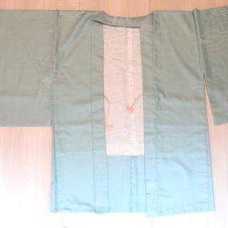 羽織 エメラルドグリーン 羽織ひも付き