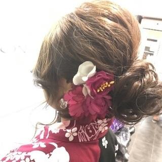 浴衣着付け&ヘアセット《要予約》¥5.000〜ヘアセット&浴衣着付け♪ - 豊島区