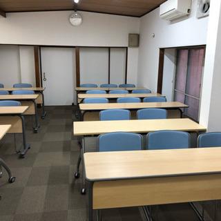川崎駅から徒歩5分で、28名収容可能の貸し会議室