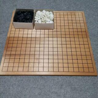 碁盤に碁石