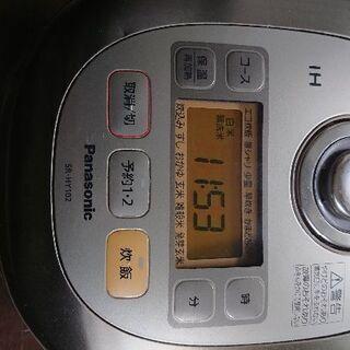 【値下げ】炊飯器 Panasonic SR HY-102の画像