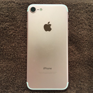 SIMフリー iPhone7 ローズゴールド 128GB(au)