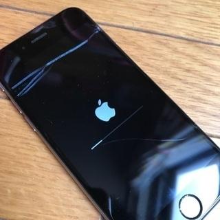 au iPhone6 16GB 画面われ