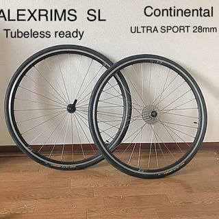 Alexrims SL tubeless ready  アレック...