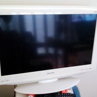 白いテレビ 中古