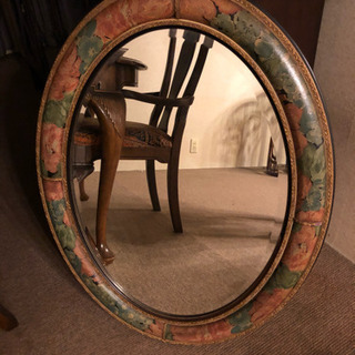 Made in ITALY BEVELLED MIRROR 壁掛...