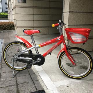 幼児用自転車 18インチ 赤