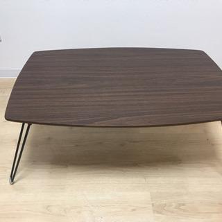 【無料】折りたたみ式ローテーブル(お引取先決まりました!)